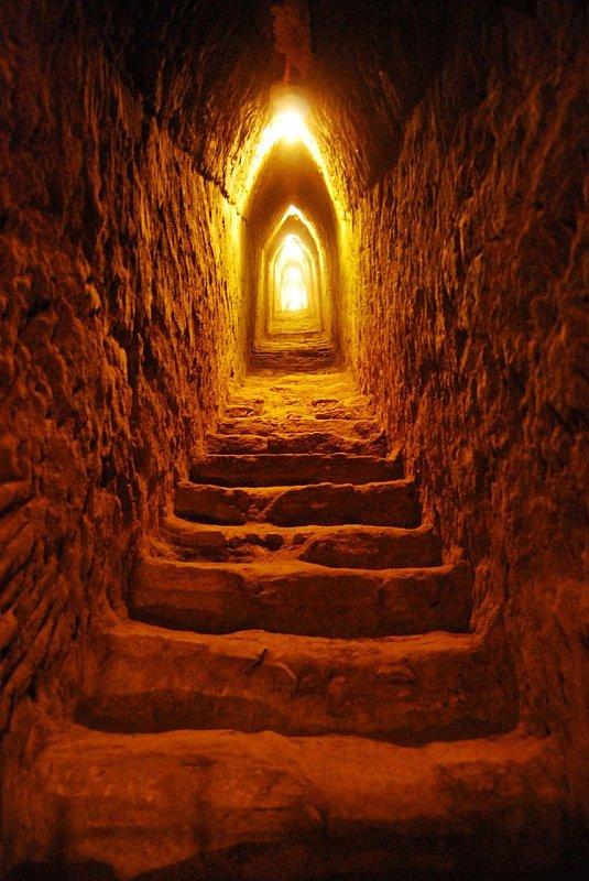Tuneles de la Piramide de Cholula