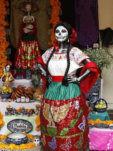 Dia de Muertos en Puebla