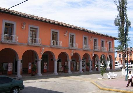 Palacio Municipal Tlatlahuquitepec