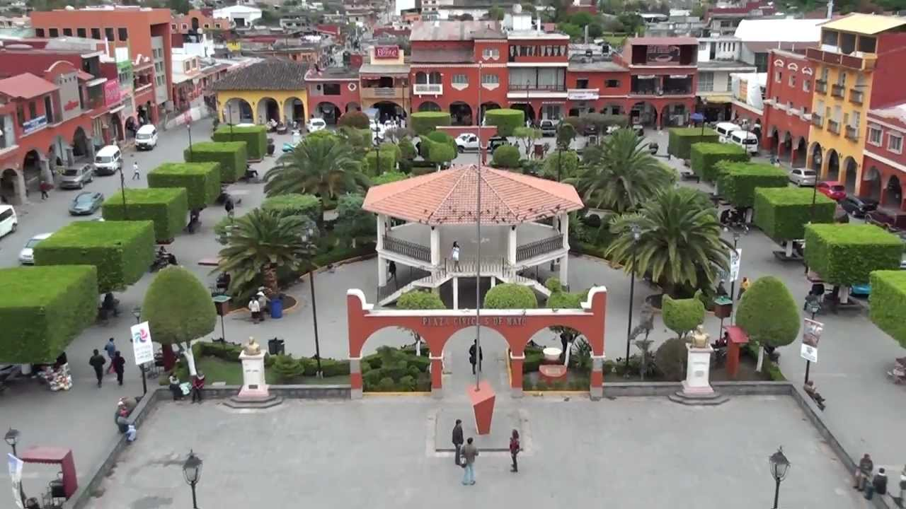 Zocalo de Xicotepec de Juarez