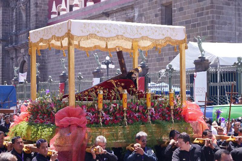 Via Crucis en Puebla