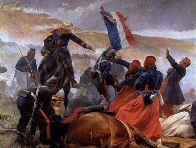 Batalla de 5 de Mayo contra los Franceses