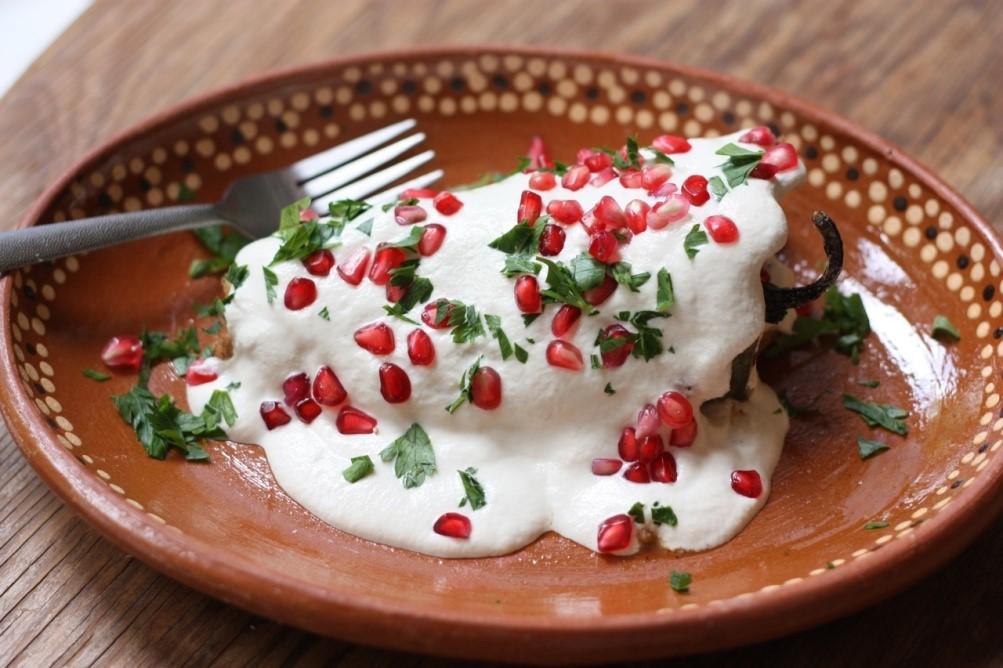 Platillo de Chile en Nogada Fuente: http://snip.ly/9Nnv