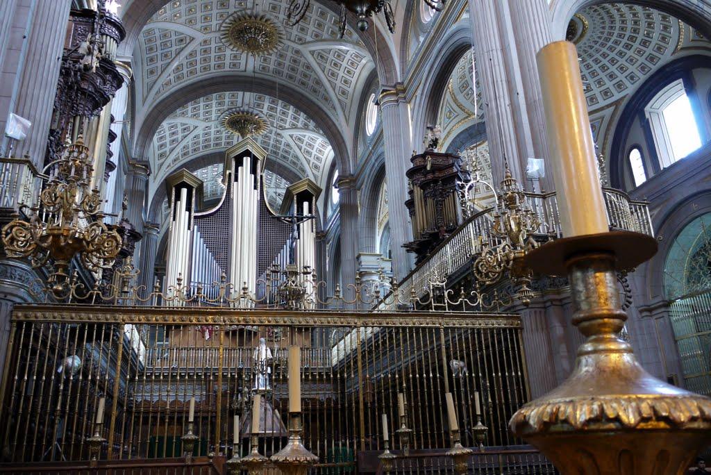 Coro Catedral de Puebla