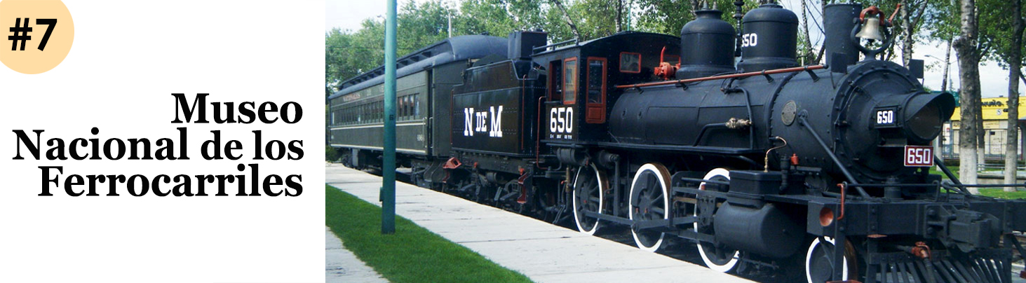 Museo Ferrocarriles Header