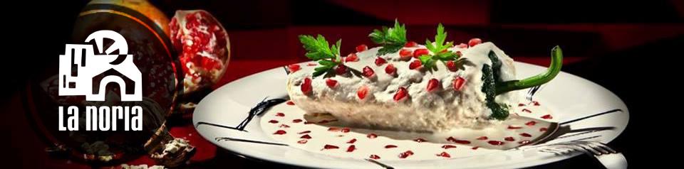 Comer Chiles en Nogada en Puebla